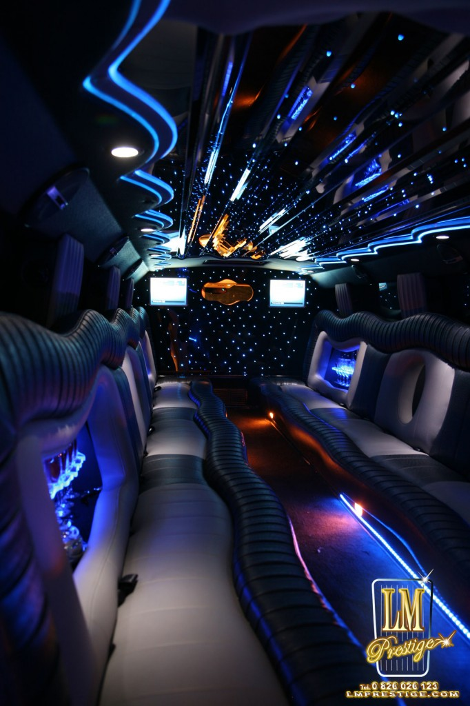 hummer limousine limousine hummer lm prestige location voiture de luxe avec chauffeur. Black Bedroom Furniture Sets. Home Design Ideas